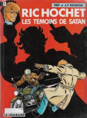Ric Hochet -46b- Les témoins de Satan