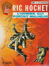 Ric Hochet -20a- L'homme qui portait malheur