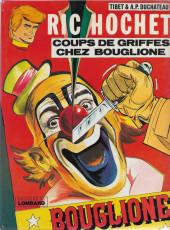 Ric Hochet -25a1978- Coups de griffes chez Bouglione