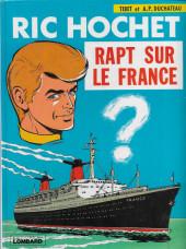 Ric Hochet -6c1980/08- Rapt sur le France