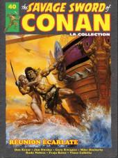 Savage Sword of Conan (The) (puis The Legend of Conan) - La Collection (Hachette) -40- Réunion écarlate