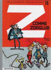Spirou et Fantasio -15f96- Z comme Zorglub