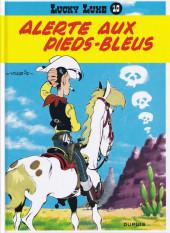 Lucky Luke -10e2015- Alerte aux Pieds-Bleus
