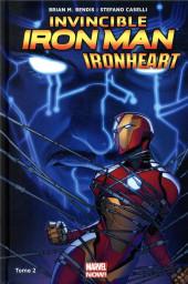 Invincible Iron Man : Ironheart -2- La Cour des Grands