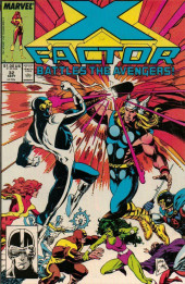 X-Factor (Marvel comics - 1986) -32- X-Factor Battles the Avengers!