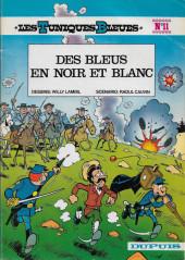Les tuniques Bleues -11a1982- Des bleus en noir et blanc