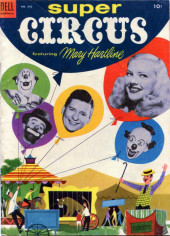 Four Color Comics (Dell - 1942) -542- Super Circus featuring Mary Hartline