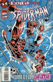 The amazing Spider-Man Vol.1 (Marvel comics - 1963) -405- Exiled Part 2 of 4: Wired for Death