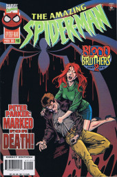 The amazing Spider-Man Vol.1 (Marvel comics - 1963) -411- Blood Brothers, Part 2 of 6: Peter Parker: Marked for Death!