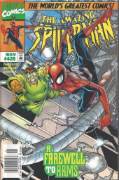 The amazing Spider-Man Vol.1 (Marvel comics - 1963) -428- A Farewell to Arms