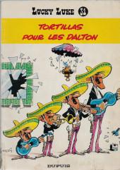 Lucky Luke -31b- Tortillas pour les Dalton