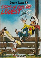 Lucky Luke -4a1971- Sous le ciel de l'Ouest