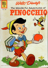 Four Color Comics (Dell - 1942) -545- The Wonderful Adventures of Pinocchio