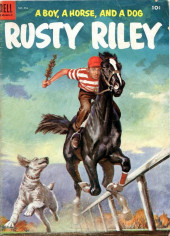 Four Color Comics (Dell - 1942) -554- Rusty Riley, a Boy, a Horse, and a Dog