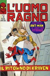 L'uomo Ragno V1 (Editoriale Corno - 1970)  -28- Il Ritorno di Kraven