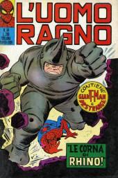 L'uomo Ragno V1 (Editoriale Corno - 1970)  -34- Le Corna di Rhino