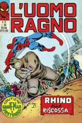 L'uomo Ragno (Editoriale Corno) V1 -37- Rhino alla Riscossa