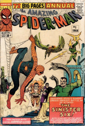 Amazing Spider-Man (The) Vol.1 (Marvel comics - 1963) -AN01- The Sinister Six!