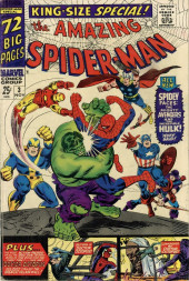 The amazing Spider-Man Vol.1 (Marvel comics - 1963) -AN03- To Become an Avenger!
