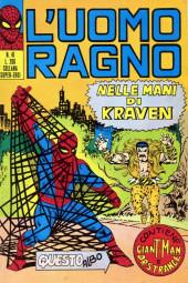 L'uomo Ragno V1 (Editoriale Corno - 1970)  -41- Nelle Mani di Kraven