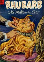 Four Color Comics (Dell - 1942) -563- Rhubarb the Millionaire Cat