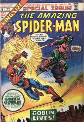 The amazing Spider-Man Vol.1 (Marvel comics - 1963) -AN09- The Goblin Lives!