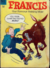 Four Color Comics (Dell - 1942) -579- Francis, The Famous Talking Mule