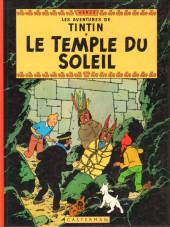 Tintin (Historique) -14C5- Le temple du soleil