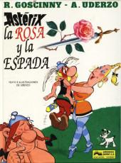 Astérix (en espagnol) -28- La Rosa y la Espada