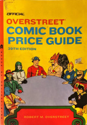 Overstreet Guide -39- Official Overstreet Comic Book Price Guide - 39th Edition