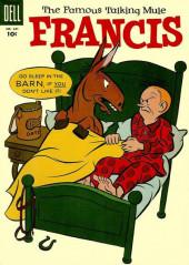 Four Color Comics (Dell - 1942) -621- Francis The Famous Talking Mule