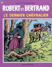 Robert et Bertrand -20- Le dernier chèvralier