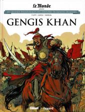 Les grands Personnages de l'Histoire en bandes dessinées -12- Gengis Khan