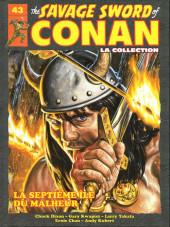 Savage Sword of Conan (The) (puis The Legend of Conan) - La Collection (Hachette) -43- La septième Île du malheur
