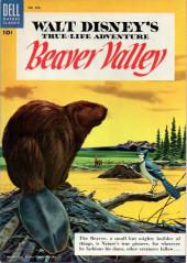 Four Color Comics (Dell - 1942) -625- Walt Disney's A True-Life Adventure Beaver Valley
