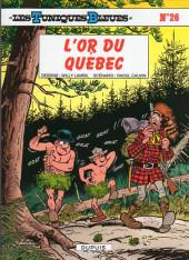 Les tuniques Bleues -26Été19- L'or du Québec