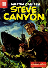 Four Color Comics (Dell - 1942) -641- Milton Caniff's Steve Canyon