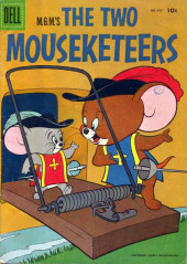 Four Color Comics (Dell - 1942) -642- The Two Mouseketeers