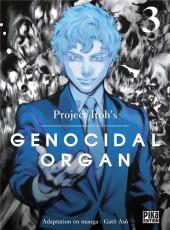 Genocidal organ -3- Tome 3