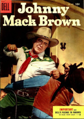 Four Color Comics (Dell - 1942) -645- Johnny Mack Brown