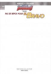 Le garde républicain -N&B- Pas de repos pour El Bravo