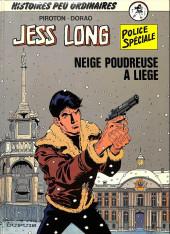 Jess Long -12TT- Neige poudreuse à liège