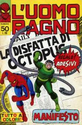 L'uomo Ragno V1 (Editoriale Corno - 1970)  -50- La Disfatta di Octopus