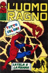 L'uomo Ragno V1 (Editoriale Corno - 1970)  -51- La Tela e la Fiamma