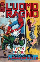 L'uomo Ragno V1 (Editoriale Corno - 1970)  -54- La Banda di Lavacervello