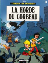 Johan et Pirlouit -14c16- La horde du corbeau