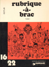 Rubrique-à-Brac (16/22) -16- Tome 1 (I)