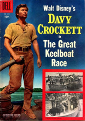 Four Color Comics (Dell - 1942) -664- Davy Crockett in The Great Keelboat Race
