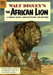 Four Color Comics (Dell - 1942) -665- Walt Disney's the African Lion
