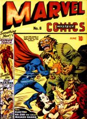 Marvel Mystery Comics (Timely - 1939) -8- (sans titre)